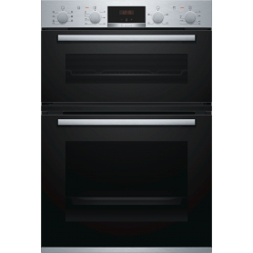 BOSCH MBS533BS0B Serie 4 Electric Double Oven