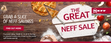 Neff Sale August - October